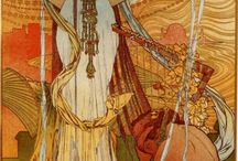 Alphonse Mucha / by Gail Smith