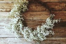 floral board: babies breath / by The Perfect Petal