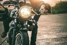 """""""The Motorcycle Diaries"""" / Cafe Racers. / by Vika"""