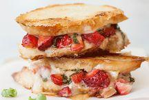 sandwiches & other lunch food / by Christen Mercier