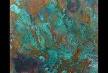 colours, textures / by Trish Glenn