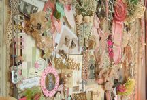 Craft Room inspirations / by Pretty Pink Cherub Pretty Pink Cherub