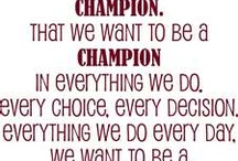 Champion Making / by Renee Buchholz