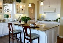 White kitchens / by Patricia