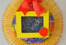Back to School! / Fun ideas to help ease the back to school blues :)  / by Ruthie {cookingwithruthie.com}