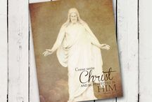 YW 2014 Theme Come Unto Christ / by Christina West