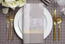 Set The Table / Beautiful tableware and linen / by Judy Carroll