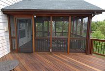 Porches/Decks / by Debra Obetts