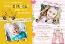 Bret turns 6 & Kate turns 3!!! Sibling party!  / by Brooke Burdick