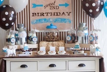 Little Man's 2nd Birthday Party / by Tracy Imbeau