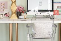 My office/craft room / by Lisa Francina