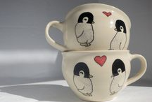 Teacup Collections / I am happy to share. Please feel free to pin whatever you like with any caption you please. No daily or other limits! / by Mimmi Penguin
