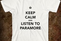 Paramore stuff / by William Grider