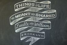 Chalkboard Typography / by Jennifer Fankhauser
