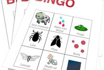 Bingo Games for Kids!! / Download and print as many games as you want. Perfect for Sunday School, Children's Church, VBS, Camp, Homeschool, and Christian Education. / by Children's Ministry Deals