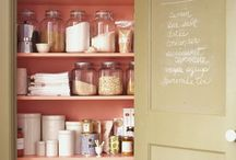 Try this at home / Creative interior design and orgnization ideas for my home- things to remember if we build a new house, or stay in our apartment for a while longer... / by Christina Edwards