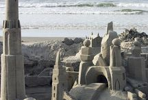 ♥sandcastles♥ / Sandcastles and other miscellaneous sand sculptures. / by Catrina Waters