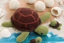 crochet and knitting / by Destiny Wells