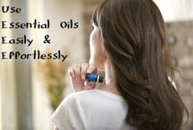 Using Essential OIls / Essential Oils are Mother Nature's natural remedies. They have been used for health and healing for over a thousand years. Essential Oils are versatile, smell wonderful and easy to use. / by Lori Thayer