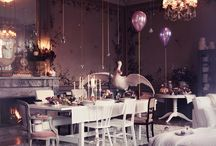 Dining/Tablescapes / Tabletop arrangements, dining set ups indoors or out.  / by Gardens of the Wild Wild West