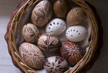 Decorated eggs / by Alison Lovallo