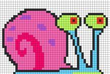 8-bit & charts   animals / by Kate Schechter