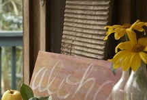 Yellows / by Chic Weddings