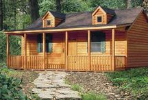 Log Cabin / Diy / by Shannon Saulters
