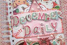 SCRAP-December Daily's / Love to Journal and what better time then at the Holiday Season.  / by Lisa Hall