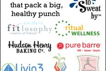 Healthy Small Businesses / Small choices can make a big difference in your health and fitness goals. Each of these small businesses wants to help you make big strides to exceed your goals and support you to be your best. Make sure to enter the #healthysmallbiz giveaway that ends on November 29th. / by Words to Sweat by