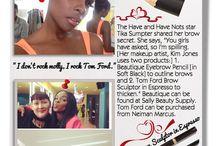 Celebrity Beauty Secrets: Brows / by Blaq Vixen Beauty