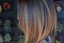 Bronde / Bronde ombré lob hair / by Jeannette De Guzman