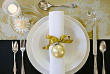 """*CHRISTMAS - TABLE / This board has all the fixin's for the Christmas table and home... from makin' the air smell """"seasonal"""" to recipes to stuff yourself with. What a fun season... go that extra mile to make lasting wonderful memories!! / by Janet Marie"""