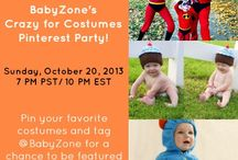 Crazy for Costumes! / Pin your favorite baby, toddler, and family costumes and tag @BabyZone for a chance to be featured on our board! / by BabyZone
