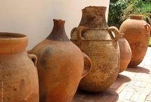Earthenware / Terra Cotta Pottery / by Bill Shattuck