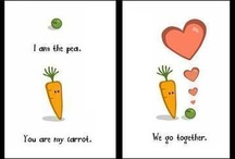 We're like peas and carrots / by ♡∞☯☮ॐ