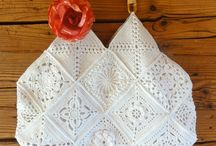 Crochet: Bags I / Crocheted bags. / by Polly Wickstrom