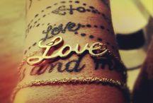Tattoo, love and inspiration / by Rebecca Hultqvist