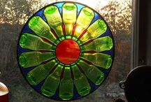 Wine Bottles / by Warner Stained Glass