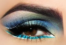 Make-up & Fashion / As you may be able to tell, I love eye makeup. Especially the winged liner...I wear it everyday! / by Angela Foltz