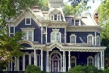 Architecture - Victorian Homes / When carpenters were skilled artisans. / by Bryant Walker