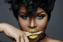 Green Lipstick and Lip Gloss / by Blaq Vixen Beauty