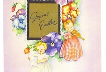 Holiday Art, Cards & Decorating / Vintage cards, prints, stuff & Ideas / by Patty Ledom