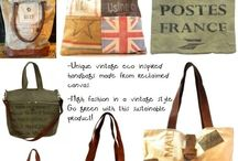 Vintage Eco Inspired Handbags / Mona B, Indigo Imports and CTW  / by Allyson's Place