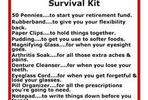 Survival Kits / by Janice McConnell