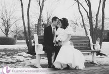 Winter Weddings / by Essence Photo and Video