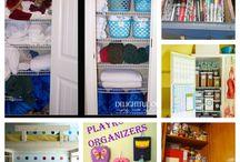 organized spaces / by Aria Ellie
