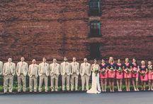&wedding party& / by Cassidy Lynn