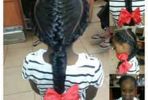 Little Girl Hairstyles  / by Erica Smith