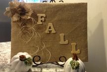 Fall decorations / by Angel Owens